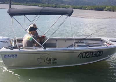 Airlie Boat Hire kakadu tinny